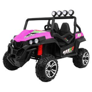 Grand Buggy pealistutav elektriauto, roosa 1/3