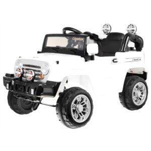 Jeep JJ245 (valge) laste pealeistutav elektriauto 1/3