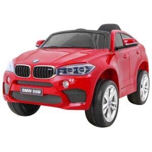 BMW X6M (lakitud) punane 1/4