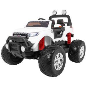 Ford Ranger MONSTER valge laste pealistutav elektriauto 1/3