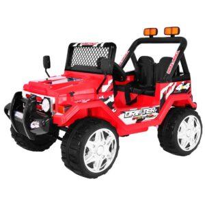 RAPTOR Jeep (punane, EVA 2.4G) 1/3